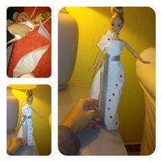 Barbie alta costura #toilet #paper