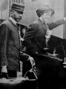 A Pullman porter assisting a passenger. Pullman porters were men hired to work on the railroads as porters on sleeping cars. Starting shortly after the American Civil War, George Pullman sought out former slaves to work on his sleeper cars. Pullman porters served American railroads for 100 years from the late 1860s until the late 1960s.
