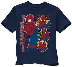 Spiderman Boys Short Sleeve Tshirt -- on shopstyle.ca
