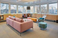 SLS - Werklig - A brand design agency from Helsinki Design Agency, Branding Design, Sofa, Couch, Open Kitchen, Floor Design, Flooring, Furniture, Home Decor