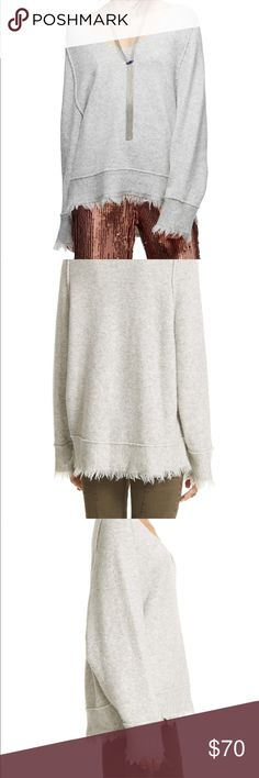 Free People 🌸 Irresistible Fringe Trim Sweater Free People 🌸 Irresistible Fringe Trim Sweater  - NWOT amazing condition! This cozy sweater is perfect for any fall or winter day - warm and light at the same time - NO TRADES Free People Sweaters