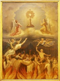 Novena to Our Guardian Angel for the Holy Souls in Purgatory: October 24 to November 1. . . O Holy Angel, whom God, by...