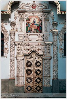 Door, Dormition Cathedral, Kiev by Roads Less Traveled Photography, via Flickr