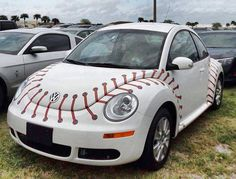 MY future car Baseball Design VW Beetle Baseball Crafts, Baseball Boys, Baseball Players, Baseball Field, Baseball Stuff, Softball Mom, Baseball Decorations, Baseball Couples, Baseball Boyfriend