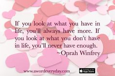 Be inspired daily with positive words and insights with AWE App. Get it for free for a limited time at http://itunes.apple.com/app/id969960040
