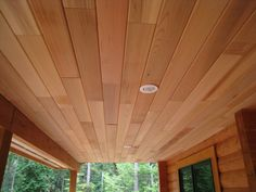 Cedar Wood Plank Ceilings Amp Wall Design Ideas Pictures