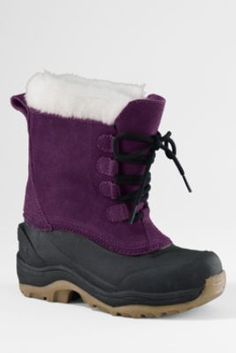 Girls' SnowPack™ Boots from Lands' End $59.97 #WishPinWin