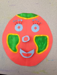 Painted 3D mask