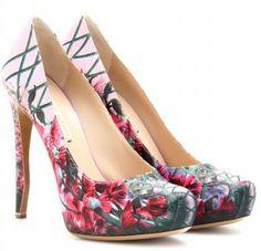 Floral Shoes Spring 2012 - Nicholas Kirkwood Floral Pumps