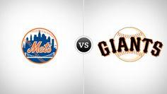 New York Mets vs. San Francisco Giants @ AT Park (San Francisco, CA)