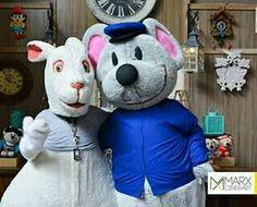 Coelhinho da Páscoa da #marxcineeart e o nosso querido #mascote #ratinho #Botão