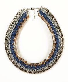 BRIKA.com | Blue Beni Necklace