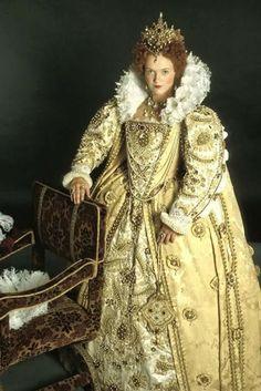 Miranda Richardson as Queenie in Blackadder.