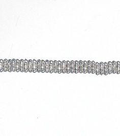 Darice® Metal Spacer Strung Beads-12''/Silver