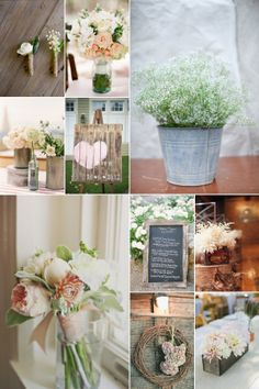 rustic wedding board #1