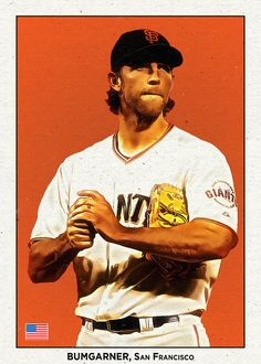 Madison Bumgarner, San Francisco Giants, Baseball Cards, Sports, Hs Sports, Sport