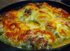 Chicken With Garlic And Cheese Recipe - http://easy-lunch-recipes.com/chicken-with-garlic-and-cheese-recipe/