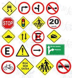 Placas de trânsito