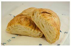 Panes con láminas de mantequilla o aceite. Receta con fotos del paso a paso.