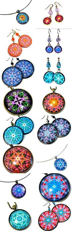 Mandala Love by Heather  O'Cain UPCYCLED JEWELRY on Etsy--Pinned+with+TreasuryPin.com