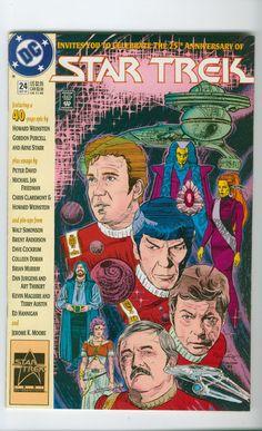 Star Trek Original Series Number 24 October 1991 DC Comics