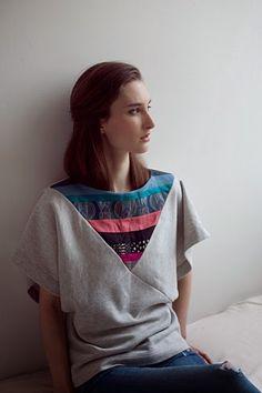yo elijo coser: Patrón gratis: top de piezas geométricas