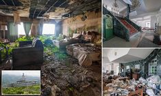 Haunting images of an abandoned luxury hotel in Japan #DailyMail