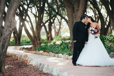 romantic wedding photos at Padua Hills Theatre
