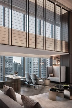 InterContinental Xi'an North by CCD/Cheng Chung Design | Hotel interiors Lobby Lounge, Hotel Lobby, Lobby Interior, Interior Design, Japanese Interior, Canopy Outdoor, Open Layout, Hotel Interiors, Design Firms