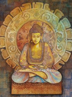 Hey, I found this really awesome Etsy listing at https://www.etsy.com/listing/93165285/buddha-a-fine-art-greeting-card