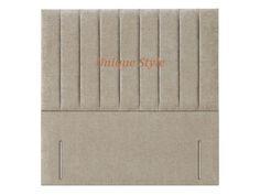 "Stylish Floor Standing Joseph Headboard in Chenile Fabric 50"" Height"