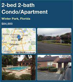 2-bed 2-bath Condo/Apartment in Winter Park, Florida ►$84,900 #PropertyForSale #RealEstate #Florida http://florida-magic.com/properties/7427-condo-apartment-for-sale-in-winter-park-florida-with-2-bedroom-2-bathroom