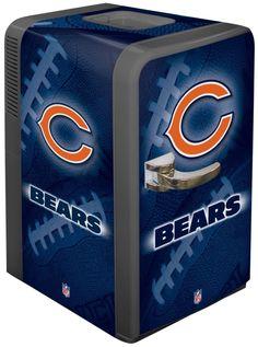 Whoa!!  NFL Chicago Bears Portable Party Refrigerator