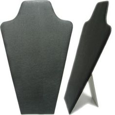 Large Leatherette/Velvet Necklaces Display Stand