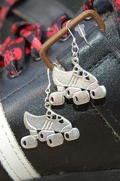 SKATE~roller skate earrings
