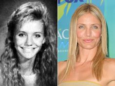 Cameron DiazIt's Cameron Diaz! Here she is in 1988, as a sophomore at Long Beach Polytechnic High School in Long Beach, Calif. Forget any awkward phase for this blonde bombshell -- by the time she turned 16, she was already a successful model.