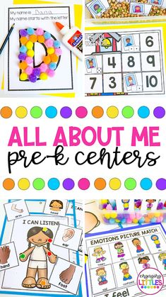 ALL ABOUT ME THEME - Engaging Littles