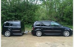 Volkswagen Touran, Trailer Build, Stance Nation, Cars And Motorcycles, Cool Cars, Gravity Falls, Trailers, Vehicles, Vans