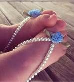 How To Make Crochet Baby Barefoot Sandals - Bing Images