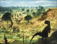 Apatosaurus & Ceratosaurus