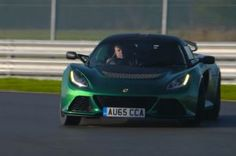 Watch the Lotus Exige Sport 350 Tear Up a Damp Race Track. The fastest production Exige to date.