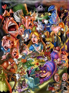 Various Alice in Wonderland Designs for Inspiration