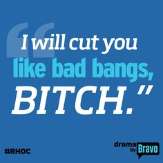 I have a rule about cussing on social media, but this is funny. Real housewives of Orange County quote Funny As Hell, Haha Funny, Hilarious, Quotes To Live By, Me Quotes, Funny Quotes, Badass Quotes, Bff, Real Housewives