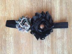 Black and Camo headband camo baby headband by Thelittlearrowshop
