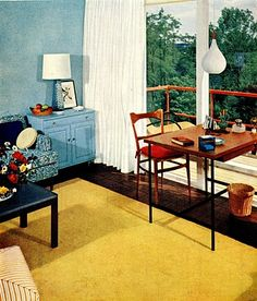 From The Ladies Home Journal Book Of Interior Decoration, published in 1957.