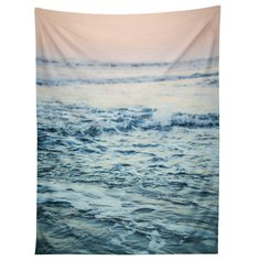 Leah Flores Pacific Ocean Waves Tapestry | DENY Designs Home Accessories