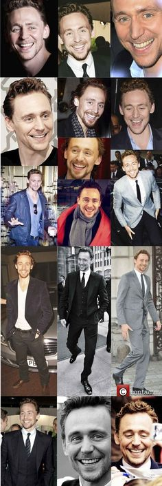 Hiddles Smiles - Tom Beams Sunshine And Joy   Community Post: This Post Will Destroy Your Life - Tom Hiddleston
