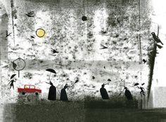 Javier Zabala ilustra a Van Gogh en El pájaro enjaulado, una recopilación de las cartas que el genial pintor escribió a su hermano durante casi 20 años. La editorial Edelvives presenta este álbum como novedad en primavera de 2014.