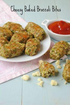 Cheesy Baked Broccoli Bites 8