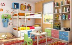 Dormitorios juveniles llenos de color!
